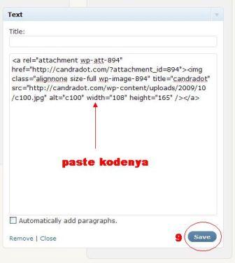 copy paste kode