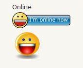 yahoo messenger online satatus